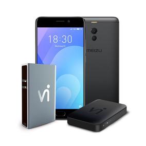 Phonestation Meizu M6 Note Preto, 5.5 , 4gb Ram, 64gb