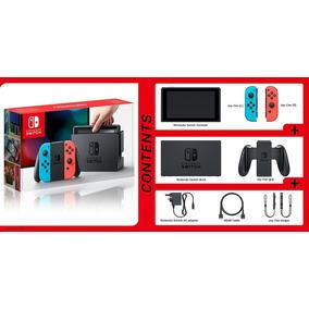 Nintendo Switch 32gb Gray Ou Color Disponível Lacrado