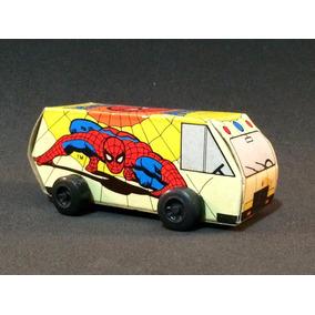 Furgão Do Homem - Aranha - Mercantil Bersil - Anos 80