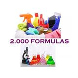 2000 Formulas Quimicas - Elabora Productos De Limpieza