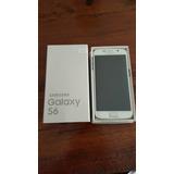 Samsung Galaxy S6 32g 4glte Blanco Carg Funda Permuto X Tv