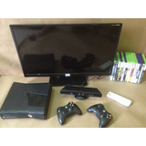 Combo Tv Led 29 Xbox 360 Slim Kicnet Y Juegos Originales