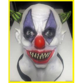 Mascara Palhaço Loko Cobre Cabeça E Pescoço Em Látex