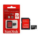 Cartão Memória Micro Sd 32gb Lacrado