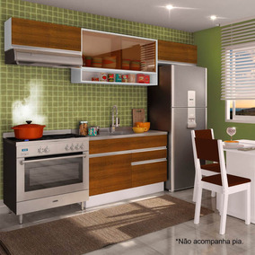 Cozinha Completa Glamy Marina Madesa (sem Tampo)