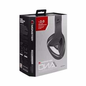 Audifonos Monster Dna Pro 2.0 Over Ear Negro Matte Nuevos!