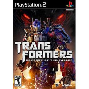 Transformers: Revenge Of The Fallen - Ps2 Patch + Encarte