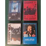 Lote Cassettes Acdc Ataque 77 Violadores Janis Joplin Rock