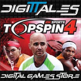 Top Spin 4 Ps3 Tenis Full Game Move Camara Ya - Digittales