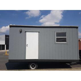 Caseta Remolque Camper Oficina Movil Nva 8x20 Pies Para 6