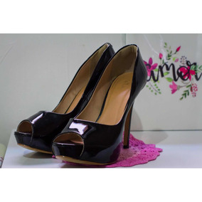 d7849faf1 Peep Toe Meia Pata Stucchi Nº 37 Sapato Scarpim Feminino - Sapatos ...