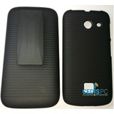 Funda Clip Holster Case Combo Huawei Y340 Mica Gratis