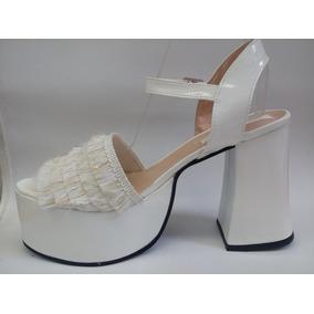 9154b81269af8 Zapatos Para Mujer Numero 42 Talle 42 - Sandalias 42 de Mujer Blanco ...