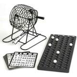 Juego Bingo Familiar Salón Mesa Balotas Metalico De Calidad
