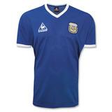 Camiseta Selección Argentina Lecoq Retro 1986 Suplente