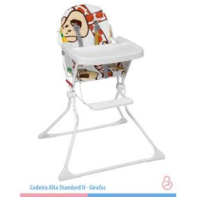 Cadeira De Alimentação Bebe Refeição Galzerano Girafa Oferta