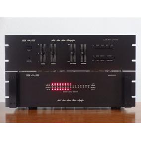 Amplificador De Poder Sae Mk 2200 + Preamplificador Mk 30