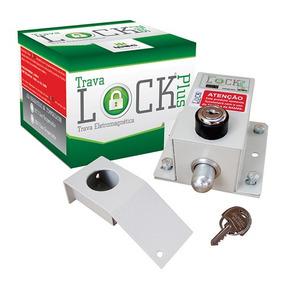 Trava Elétrica P/ Portão Automatico+módulo Temporizador Ipec