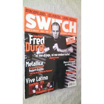 Fred Durst Limp Bizkit Madonna Revista Swicth 2003