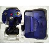 Nintendo 64 (made In Japan) + Caja + Accesorios + 2 Juegos