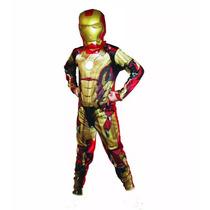 Fantasia Infantil Homem De Ferro Os Vingadores P - M - G