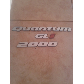 Kit Emblema Quantum Gli 2000 91 92 93 94 95 96
