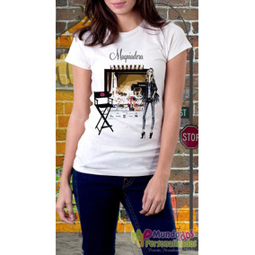 Camiseta Personalizada Profissões Maquiadora
