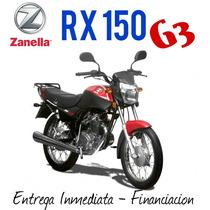 Moto Zanella Rx 150 G3 0km 2017