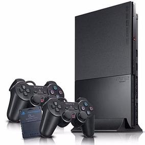 Play 2 Diseño Único +2 Joys+ Memoria+ Juegos+ Garantía !
