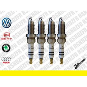 Bujías Bosch Originales Volksvagen Polo Vento 1.6 L + Regalo
