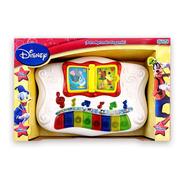 Piano Librito Musical Con Luces Mickey Disney Original