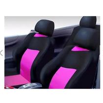 Kit Rosa Pink C Capa Banco Tapetes