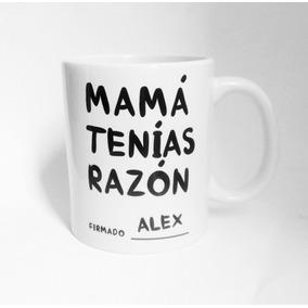 Taza Ceramica Personalizada Con Tu Nombre Frase Regalo Mama