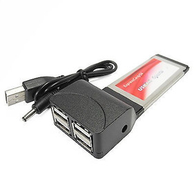 Tarjeta Express Card 34mm Usb 2.0 4 Puertos Laptop Notebook