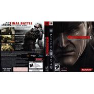 Metal Gear Solid 4: Guns Of The Patriots Ps3 Semi-novo