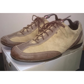 Zapatos Zapatillas Gamuzados Hush Puppies