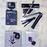 Hero5 Black + 3-way + Super Suit + Bateria Extra + Sd 16gb