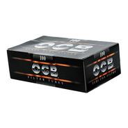 Tubos Papel Para Cigarro Com Filtro Ocb Black Caixa Com 100