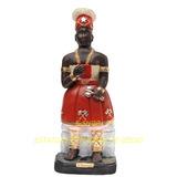 Xango Orixa Africa Imagem 60cm Estatua Candomblé Gesso Br