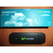 Pendrive O Modem Internet Movistar 4g Huawei E3372 Con Linea
