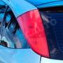 Película Adesiva Fumê, Vermelha P/ Lanterna Farol Carro Moto