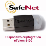 E Token Safenet 5110 Firma Digital 72k Anmat Scba
