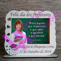 50 Lembranças Dia Dos Professores Porta-retrato Mdf Branco
