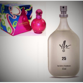 Perfume Deo Colônia 25 Inspiração Fantasy Yes! Feminino.