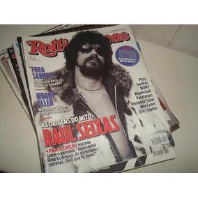 12 Números Da Revista Rolling Stone De 2007 A 2014.