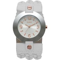 Relógio Euro Analógico Fashion Eu2035rn/3b - Branco