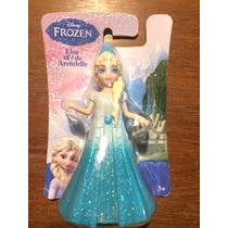Mini Boneca Frozen Princesa Elsa Mattel Elza Original