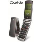 Celular Lg G-360 Flip Teclado/tela Grandes/cam/ Dual Sim