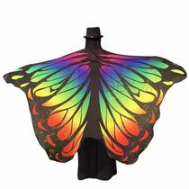 Véu Asa Wings Borboleta Isis Véu Dança Do Ventre Fantansia