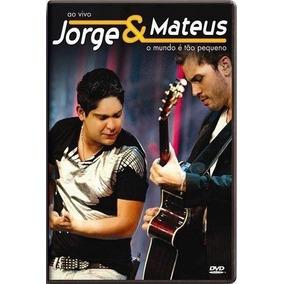 Dvd Jorge E Mateus - O Mundo É Tão Pequeno